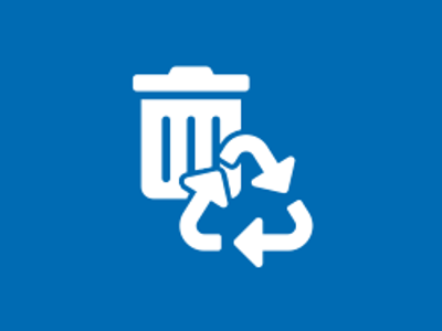 Waste and Recycling Icon