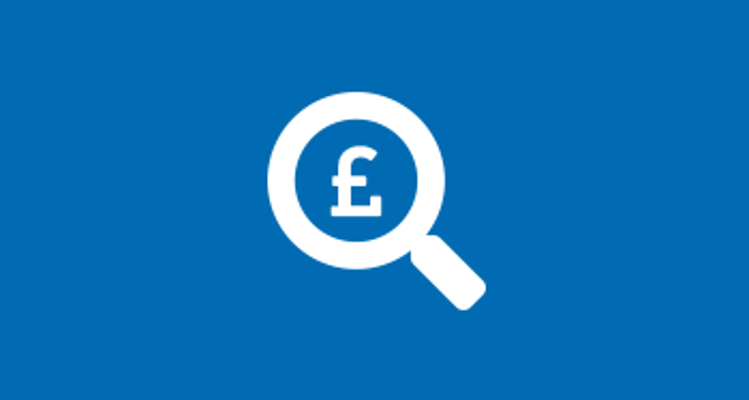 Magnifying glass icon with pound sign