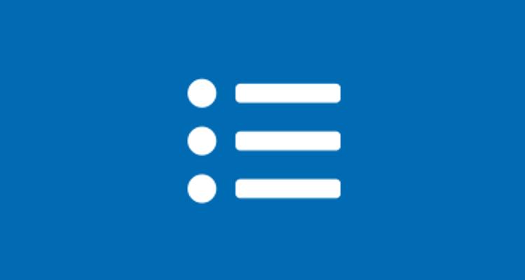 Unordered List icon