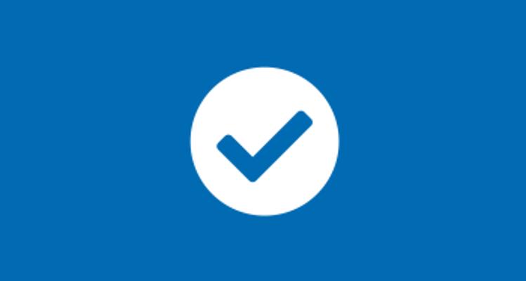 Circle tick icon